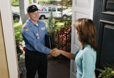 in-home estimate from Comfortech Service Experts Heating & Air Conditioning